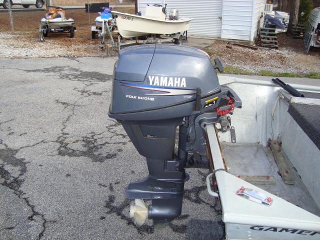 2002 Yamaha 9.9 4-stroke outboard motor Image