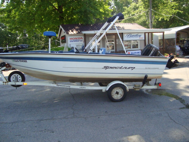 Spectrum new and used boats for sale for Used aluminum fishing boats on craigslist